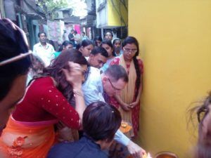 Inauguration by Mr Craig Hall and Tanushree Chakraborty